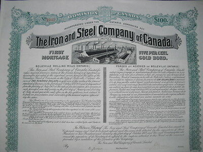 Iron and Steel Company  of Canada 1903