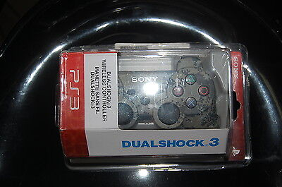 Wireless Bluetooth Dual Shock 3 SIX AXIS Controller for PS3 - Camouflage