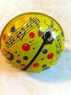 Vintage Noise Maker Party Rattle Bell New Years Eve Party Favor Kirchhof USA