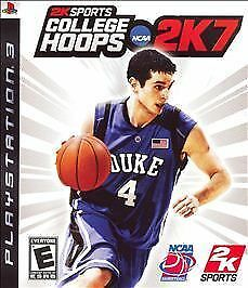 College Hoops 2K7  (Sony Playstation 3, 2007)