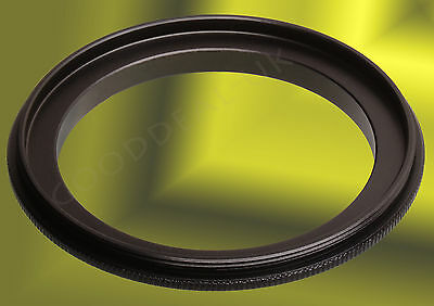 Male to Male 42mm-52mm 52-42 Macro Reverse Double Lens Coupling Ring Adapter UK