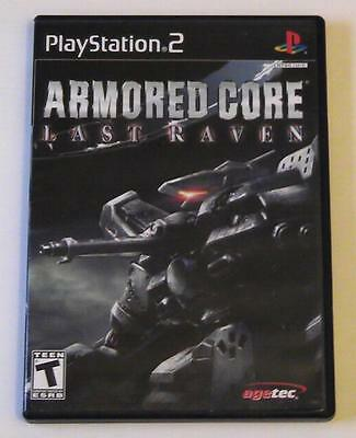 ARMORED CORE LAST RAVEN ps2 playstation 2 robot mech mobile suit 360 fighting vs