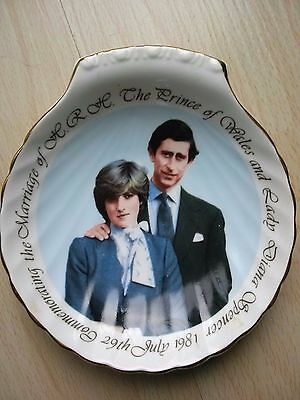Princess Diana Prince Charles Commemorating Marriage Royal Grafton Bone China