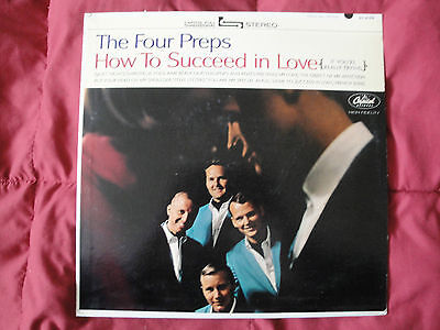 """The Four Preps """"How To Succeed In Love"""" ORIGINAL 1964 CAPITOL RECORDS LP EX"""