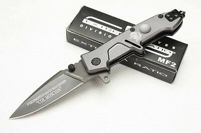 EXTREMA RATIO Knife Assisted Opening Saber Pocket Folding Camping HOT yx a66