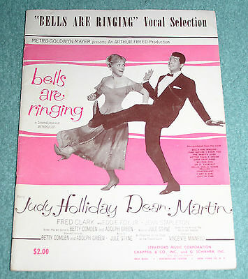 Bells are Ringing Judy Holliday/Dean Martin (piano/vocals) 1958 Jule Styne