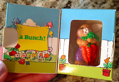 1984 Avon Merry Messenger Pomette THANKS A BUNCH Bunny Mint w/Box