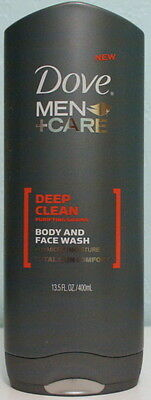 Dove Men Care Deep Clean Body and Face Wash 13.5 Fl oz
