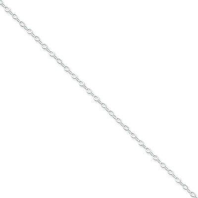 "Mens Ladies .925 Sterling Silver 2.2mm Fancy Link 20"" Chain Necklace For Pendant"