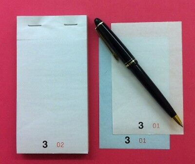 EF15 NCR Order Pads, Waitress Pads, Wholesale (Qty 100) food Order Books