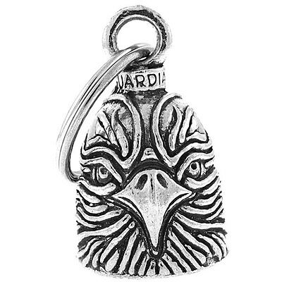 Pewter Hawk Bell Gift Bag & Legend Christian Religious Travel Accessory