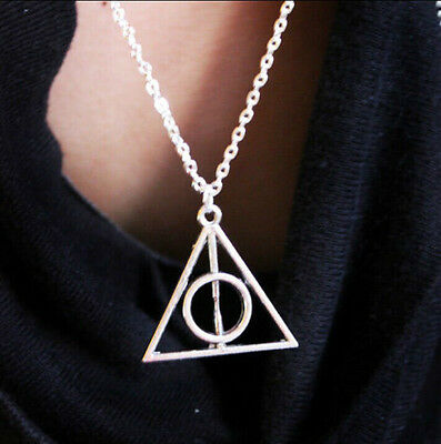 New Hot Sale, Harry Potter The Deathly Hallows Necklace Pendant Charm