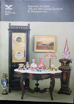 Important Art Glass 18th and 19th Century Furniture & Decorative Arts (Skinner)