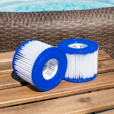 Bestway Lay Z Spa Filters Twin Pack | Vegas Monaco Miami Palm Springs Size VI