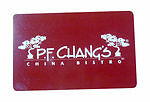 $100 PF Changs Gift Card