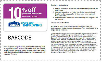 1 LOWES  10% Off Coupon . It Expires 05/07/2015..   Get it Tonight