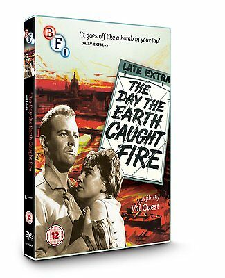 The Day the Earth Caught Fire - DVD NEW & SEALED - Edward Judd
