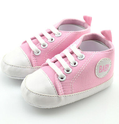 HOT Sell Newborn soled Infant Unisex Baby Shoes Girl Boy Toddler 6-12 Months X08