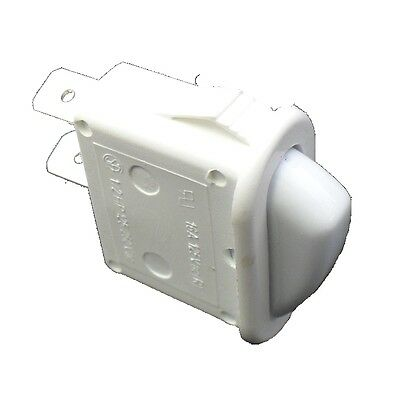 OVEN SWITCH ROCKER WHITE 0534001687 Suits Westinghouse Simpson Electrolux Chef