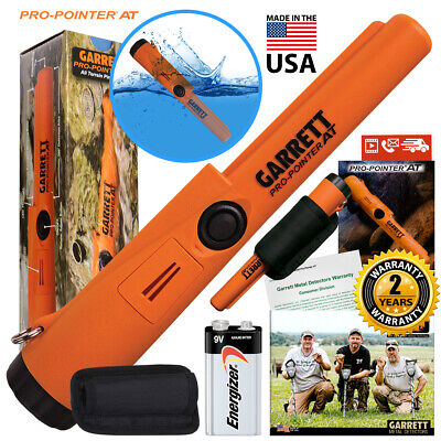 Garrett Propointer AT Underwater Pinpointer with Holster & Battery Included NIB