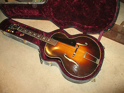 1938/9 Epiphone Made in New York by Stathopoulo Archtop Spruce carved w/ Maple
