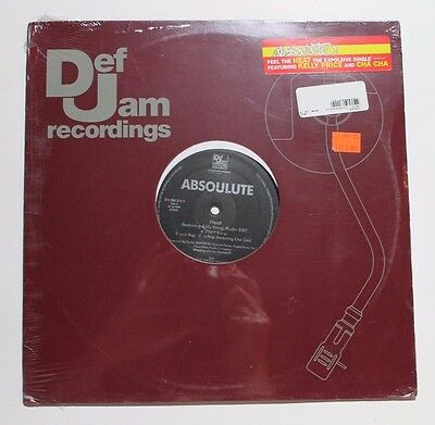 "ABSOULUTE Heat 12"" Def Jam 314 566 311-1 1998 Mint (Sealed w/ Promo Sticker) 02G"