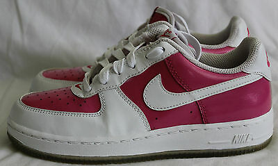 NIKE AIR FORCE 1 LE 334212-611 VIVID PINK/WHITE Youth/Girls Size 2Y