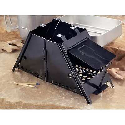 Foldable Pocket Cooker Survival Stove Esbit Sterno Wood