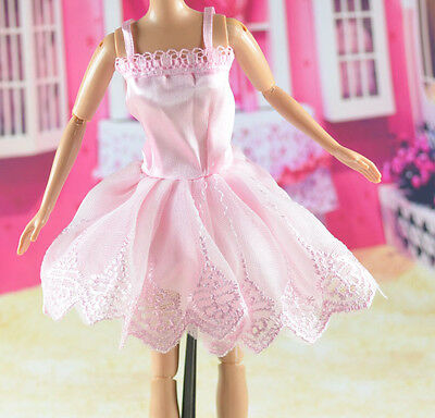 lovely New Handmade Party Clothes Fashion Dress for Noble Barbie Doll   **bab05