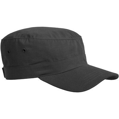 Helikon Military Army Style Adjustable Combat Tactical Cap Hat Ripstop Black