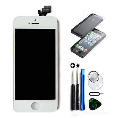 White LCD Display+Touch Screen Digitizer Assembly Replacement for iPhone 5 OEM