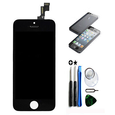 Black Touch Screen Digitizer +LCD display Assembly Replacement for iPhone 5C US