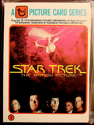1979 Star Trekstar Trek The Motion Picture Colonial Bread 33 Card Set