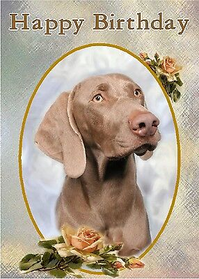 Weimaraner Key Ring By Starprint Auto combined postage
