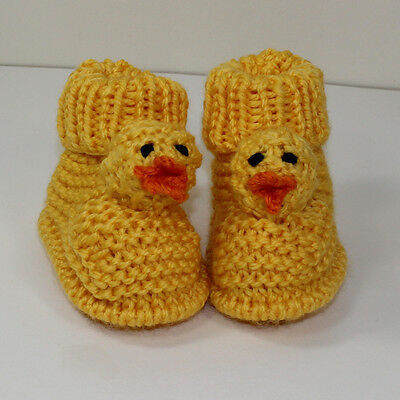 Printed Knitting Instructions-Toddler Chick Boots Knitting Pattern