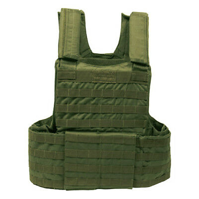 Tactical Army Military Vest Molle Ii Modular System Airsoft Webbing Olive Od