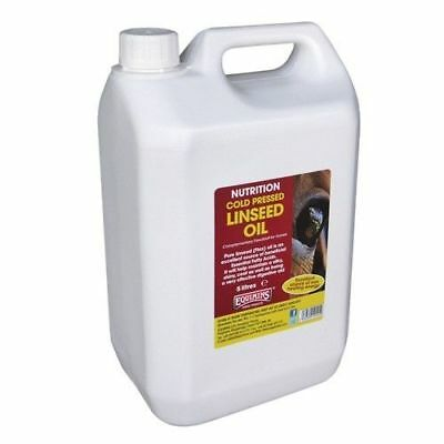EQUIMINS LINSEED OIL (cold pressed) shiny coat non heating horse supplement