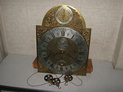 Old, Quarter Chiming  grandfather clock movements, working , very rare