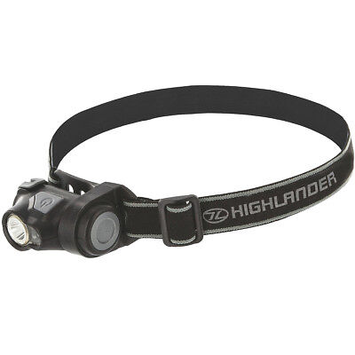 Highlander Shine 3W Cree White + Red Led Headlamp Bright Tactical Camping Torch
