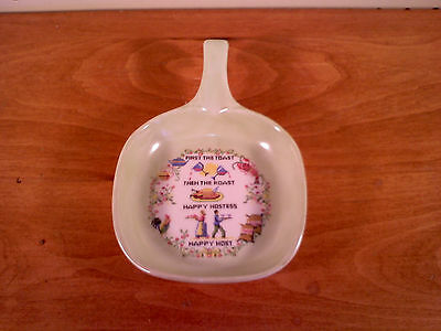 'First the Toast Then the Roast Happy Hostess Host,Ceramic Spoon Rest