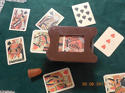 Dealers Box for Faro game (old west casino game)