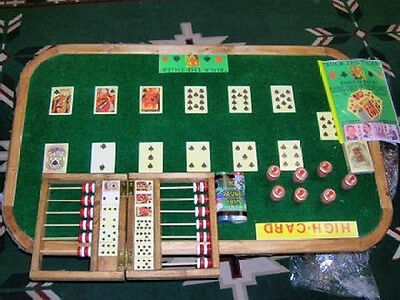 Old West Faro Game Board