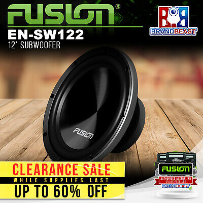 "New Fusion Black Edition En-sw122 12"" 1000w Subwoofer Svc 4 Ohm Sub"