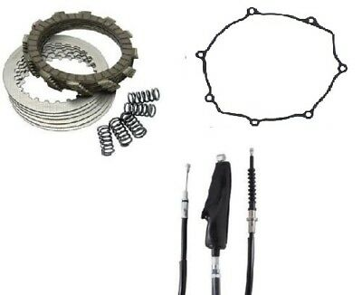 Yamaha YZ250F 2006–2007 Tusk Clutch, Springs, Cover Gasket, & Cable Kit