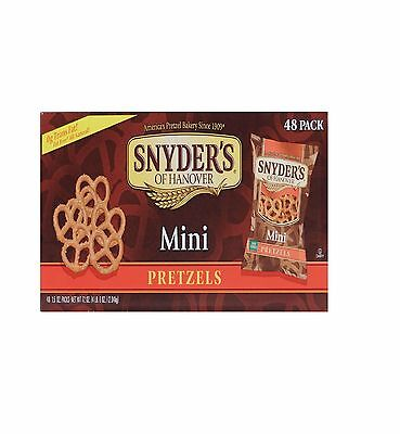 Snyder's of Hanover Mini Pretzels 1.5 Oz., 48 Ct.