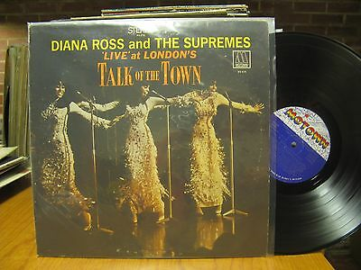 Diana Ross and Supremes Talk of the Town LP Motown MS 676 Stereo