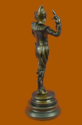 Bronze Gueyton Reproduction Sculpture Walk of the Jester Statue Marble Figurine