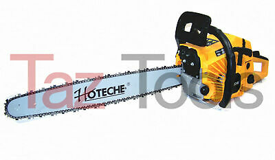 "18"" Gasoline Chainsaw Machine Cutting Wood Gas Chain Saw Aluminum Crankcase"