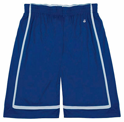 Badger Youth Moisture Management Antimicrobial Reversible Sporty Short. 2248