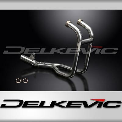 ER-5 ER5 96-05 Stainless Steel Exhaust Downpipes to fit Delkevic Silencers
